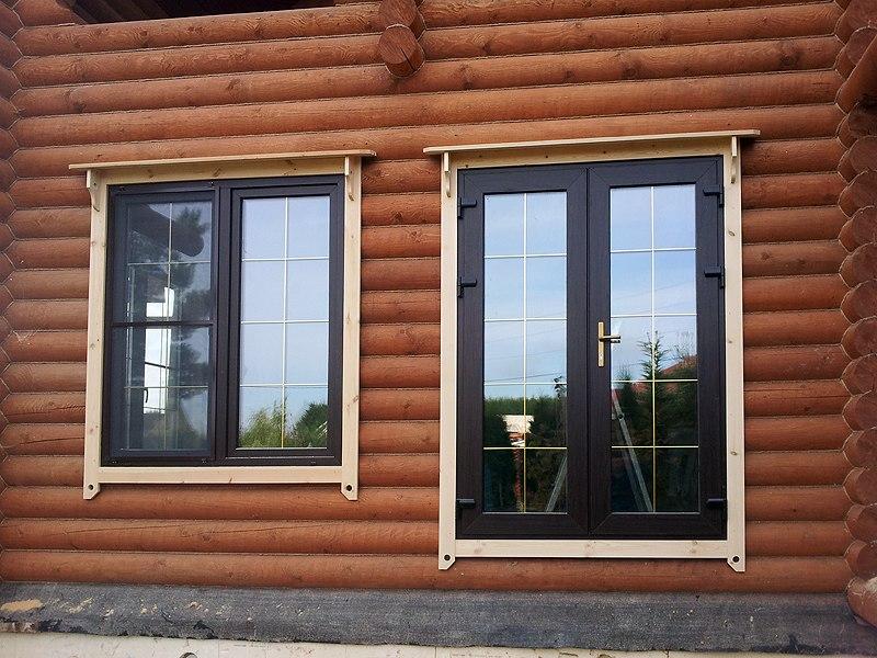 Металлопластиковые окна в деревянном доме